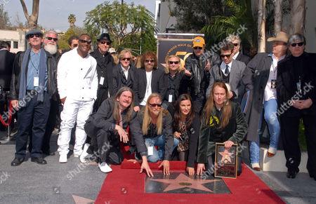 Barbara Orbison, Wesley Orbison, Alex Orbison and Roy Orbison Jr.