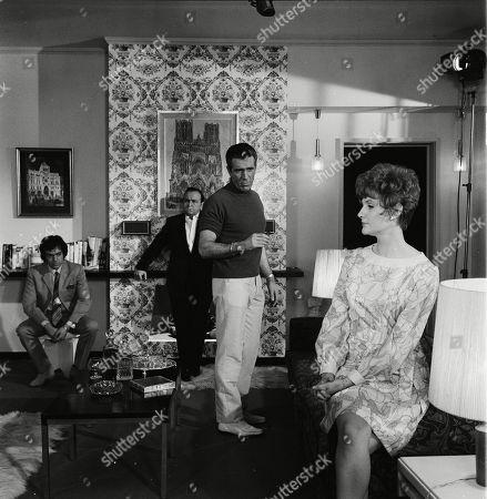 Alan Lake as The Dandy, Steve Plytas as Lizardos, Kieron Moore as Lomax/Reeves and Barbara Murray as Tania