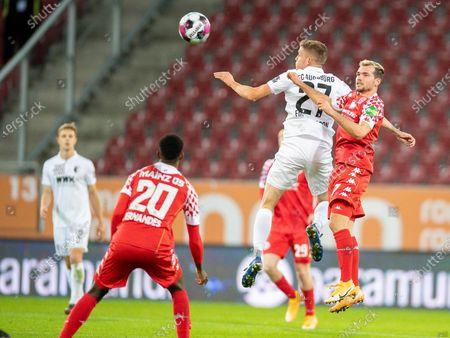 Editorial photo of FC Augsburg v FSV Mainz 05, Bundesliga, Football, WWK Arena, Augsburg, Germany - 31 Oct 2020