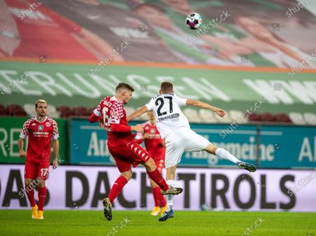 Editorial image of FC Augsburg v FSV Mainz 05, Bundesliga, Football, WWK Arena, Augsburg, Germany - 31 Oct 2020