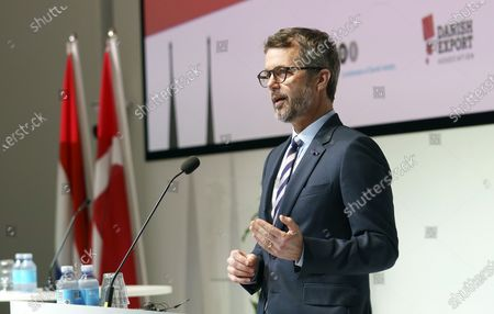 Editorial image of Danish Crown Prince speaks at virtual business conference, Copenhagen, Denmark - 02 Nov 2020
