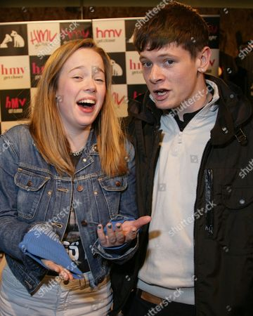Lisa Backwell (Pandora) and Jack O'Connell (Cook)