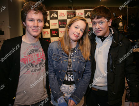 Ollie Barbieri (JJ), Lisa Backwell (Pandora) and Jack O'Connell (Cook)