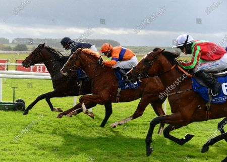 CURRAGH 2-November-2020. ARTURO TOSCANINI and Seamie Heffernan win for owner Mrs John Magnier and trainer Aidan O'Brien from EMPORIO and EARLSWOOD (near).
