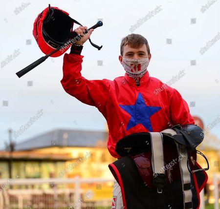 CURRAGH 2-November-2020. PRETTY BOY FLOYD gave jockey Colin Keane his 100th winner of the season.