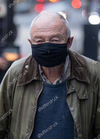 Editorial photo of Ken Livingstone out and about, London, UK - 31 Oct 2020