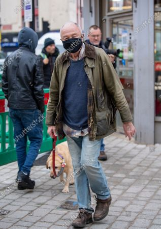 Editorial image of Ken Livingstone out and about, London, UK - 31 Oct 2020
