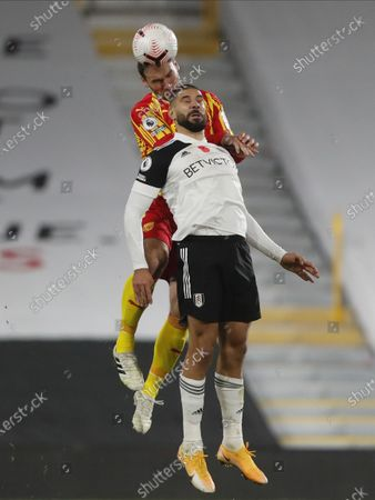 Editorial picture of Fulham FC vs West Bromwich Albion, London, United Kingdom - 02 Nov 2020