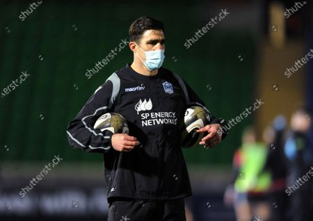 Editorial picture of Glasgow Warriors v Leinster, Pro14 Rugby, Glasgow, Scotland, UK - 02 Nov 2020