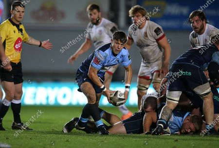 Jamie Hill of Cardiff Blues.