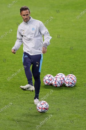 Olympique de Marseille assistant coach Ricardo Carvalho during the team's training session at Dragao stadium in Porto, Portugal, 02 November 2020. Olympique de Marseille will face FC Porto in their UEFA Champions League match on 03 November 2020.
