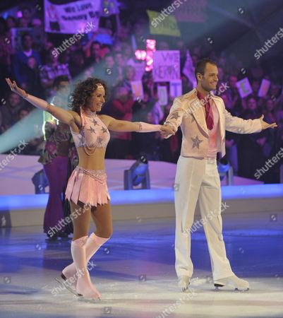 Tana Ramsay and Stuart Widdall.