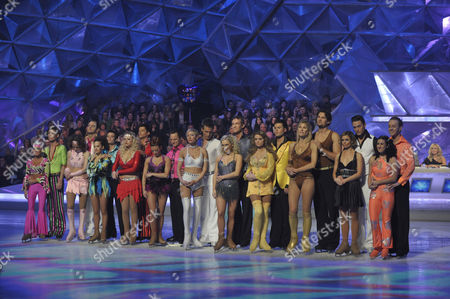 The Contestants: Kieron Richardson and Brianne Delcourt. Tana Ramsay and Stuart Widdall Danny Young and Frankie Poultney. Emily Atack and Fred Palascak. Mikey Graham and Melanie Lambert. Heather Mills and Matt Evers. Dr Hilary Jones and Alexandra Shauman. Danniella Westbrook and Matthew Gonzalez. Sharron Davies and Pavel Aubrecht. Gary Lucy and Maria Filippov. Hayley Tamaddon and Daniel Whiston.