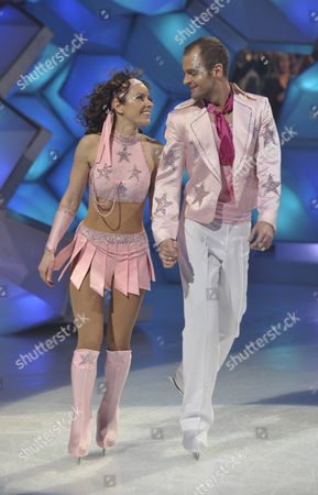 Stock Picture of Tana Ramsay and Stuart Widdall