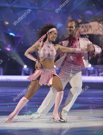 Tana Ramsay and Stuart Widdall