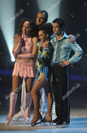 Editorial picture of 'Dancing on Ice' TV Programme, Elstree Studios, Borehamwood., Britain -  31 Jan 2010