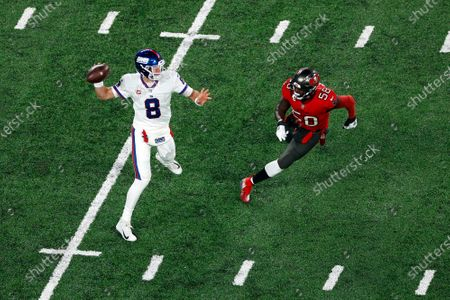 Editorial photo of Buccaneers Giants Football, East Rutherford, United States - 02 Nov 2020