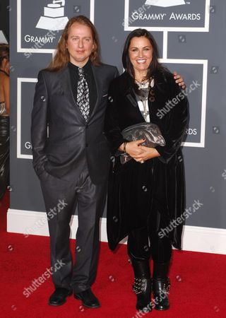 Barbara Orbison and son Roy Orbison Jr.