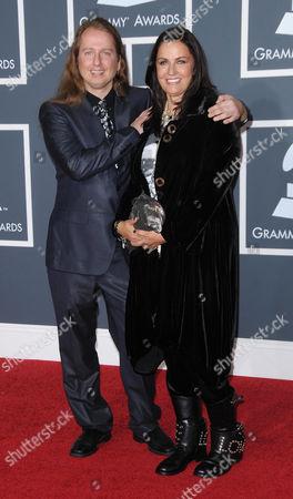 Roy Orbison Jnr with Barbara Orbison