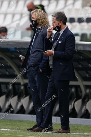 Fabio Paratici, managing director of football, and Pavel Nedved (Juventus FC)