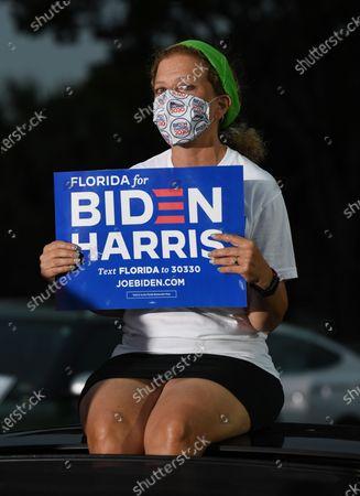 Editorial picture of Former US President Barack Obama campaigns for Biden, Miami, Florida, USA - 02 Nov 2020