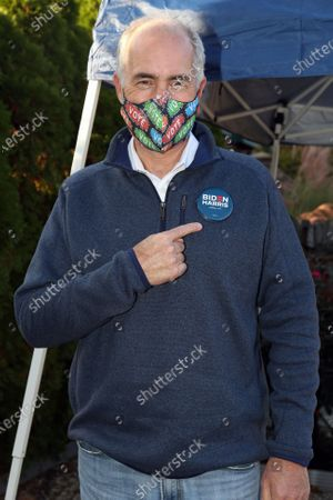 Editorial image of GOTV Canvass Kickoff with Bob Casey in New Hope, Pennsylvania, USA - 31 Oct 2020