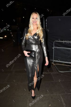 Editorial photo of The London Lifestyle Awards 2020 TOPTEN announcement launch party, London, UK - 02 Nov 2020