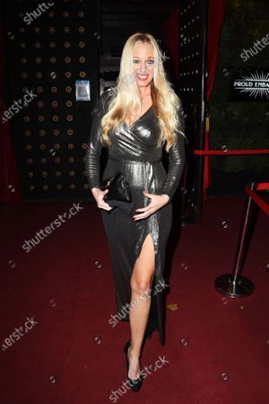 Editorial picture of The London Lifestyle Awards 2020 TOPTEN announcement launch party, London, UK - 02 Nov 2020