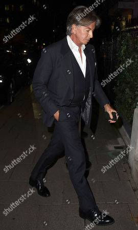 Editorial image of Celebrities at Annabels, London, UK - 02 Nov 2020