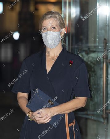 Stock Picture of Sophie Countess of Wessex attends the Sung Eucharist to mark All Souls' Day Service at Westminster Abbey,London