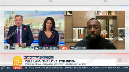 Editorial picture of 'Good Morning Britain' TV Show, London, UK - 03 Nov 2020