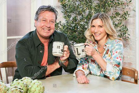 Editorial photo of 'John & Lisa's Weekend Kitchen' TV Show, Series 5, Episode 1, UK - 14 Nov 2020