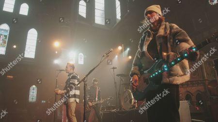 Danny Jones, Tom Fletcher and Dougie Poynter.