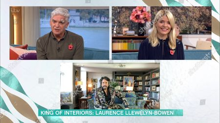 Phillip Schofield, Holly Willoughby, Laurence Llewelyn-Bowen
