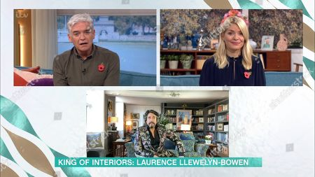 Stock Photo of Phillip Schofield, Holly Willoughby, Laurence Llewelyn-Bowen