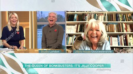 Holly Willoughby, Phillip Schofield, Jilly Cooper