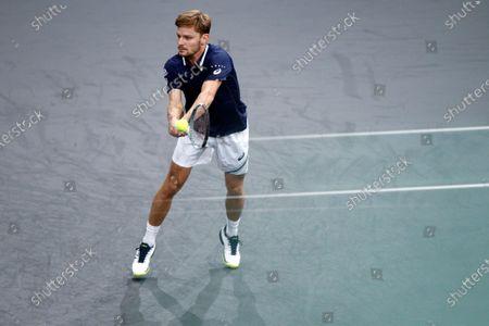 Editorial image of Rolex Paris Masters 2020 Tennis Tournament, France - 03 Nov 2020