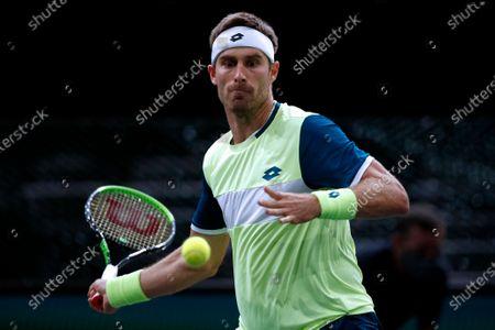 Editorial picture of Rolex Paris Masters 2020 Tennis Tournament, France - 03 Nov 2020