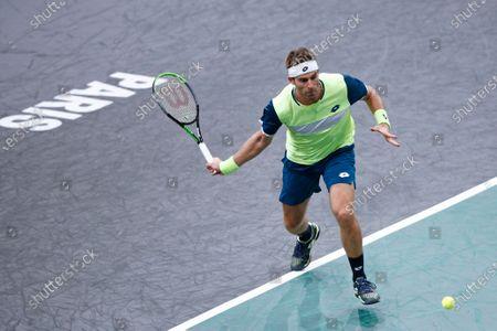 Editorial photo of Rolex Paris Masters 2020 Tennis Tournament, France - 03 Nov 2020