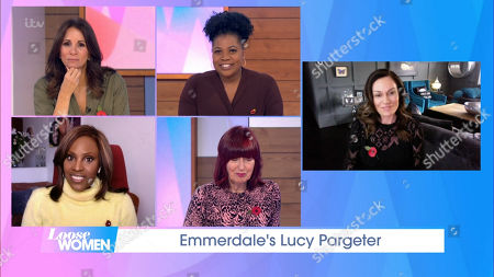 Andrea McLean, Brenda Edwards, Kelle Bryan, Janet Street-Porter, Lucy Pargeter