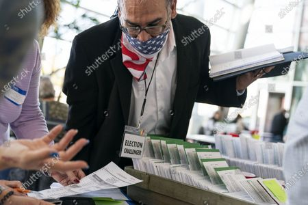 Editorial picture of Election 2020 Michigan Voting, Warren, United States - 03 Nov 2020