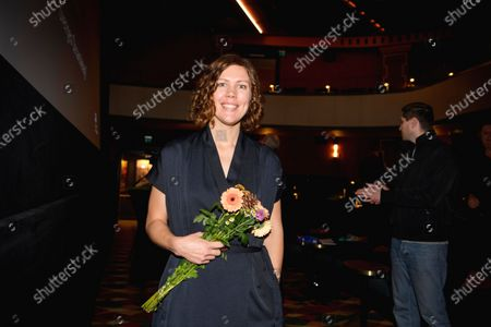 "Director Amanda Kernell, after the announcement that her film ""Charter"" has been chosen as the Swedish submission for the Academy Award for Best International Feature Film"