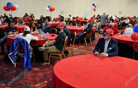 Editorial image of Election Day voting 2020, Las Vegas, USA - 03 Nov 2020