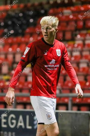 Crewe Alexandra midfielder Charlie Kirk (10) during the EFL Sky Bet League 1 match between Crewe Alexandra and Gillingham at Alexandra Stadium, Crewe