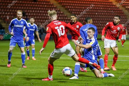 Editorial image of Crewe Alexandra v Gillingham, EFL Sky Bet League 1 - 03 Nov 2020