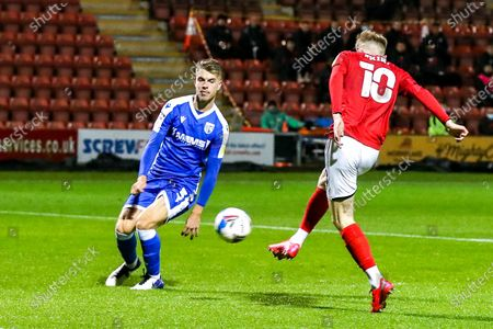 Editorial photo of Crewe Alexandra v Gillingham, EFL Sky Bet League 1 - 03 Nov 2020