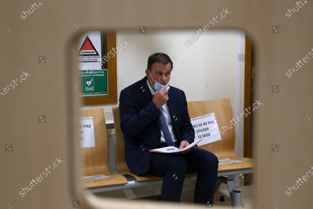 Editorial photo of Louis Aliot at Montpellier's administrative court, France - 03 Nov 2020