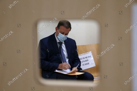 Editorial picture of Louis Aliot at Montpellier's administrative court, France - 03 Nov 2020