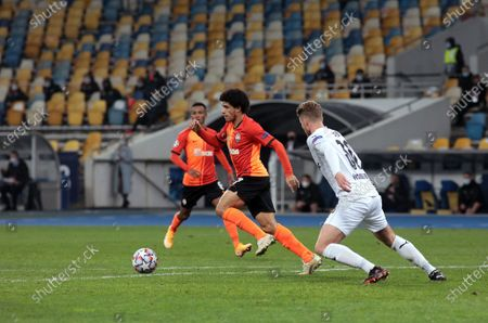 Editorial photo of Shakhtar vs Monchengladbach in UCL game in Kyiv, Ukraine - 03 Nov 2020