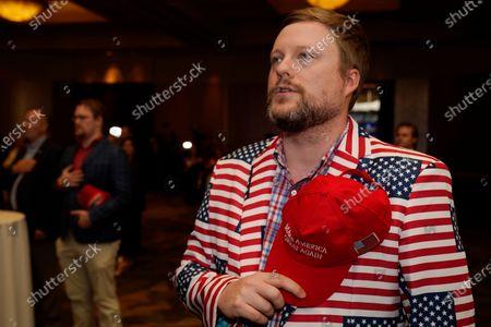 Editorial photo of Election 2020 Senate Perdue, Atlanta, United States - 03 Nov 2020